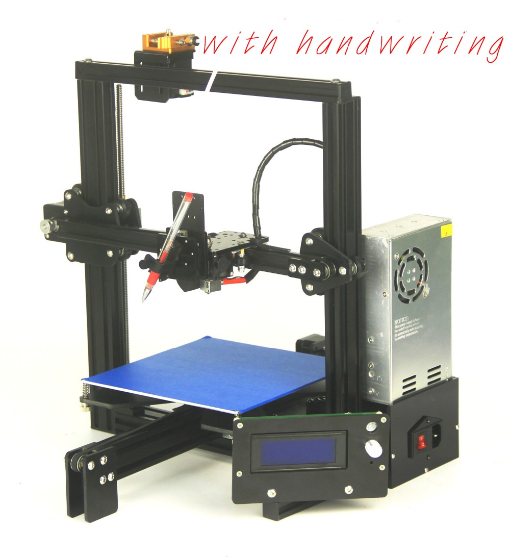 2018 big print size3D printer one extruder head ramps plus2 filament ABS PLA laser engraving E3D extruder cheap 3D printer kit zonestar newest full metal aluminum frame big size 300mm x 300mm auto level laser engraving run out decect 3d printer diy kit