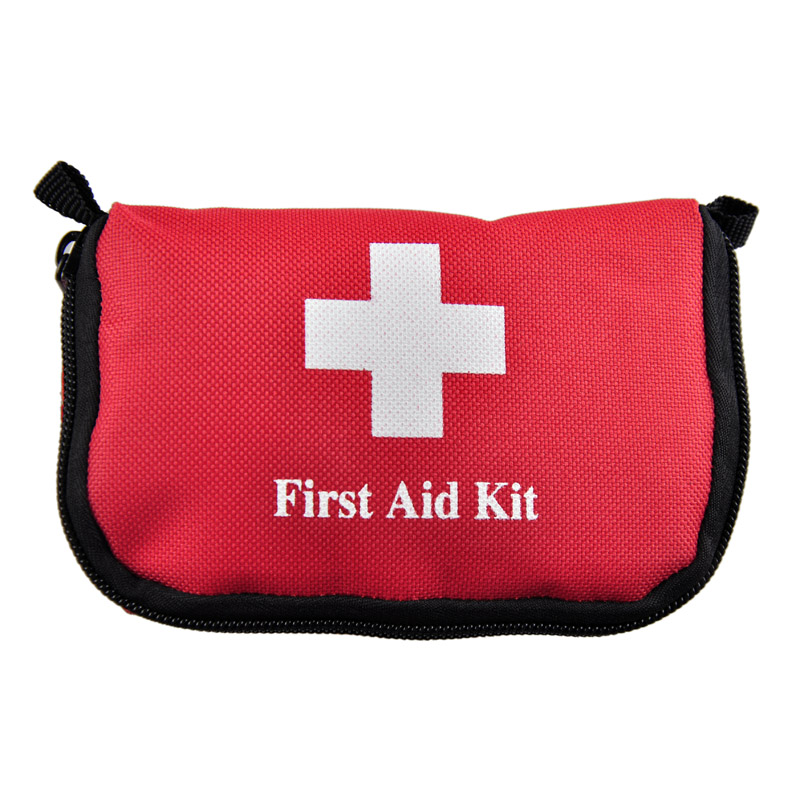 Mini  0.5L 25g First Aid kit durable camping homeportable red hot sale travel sports  medical bag outdoor car emergency survival