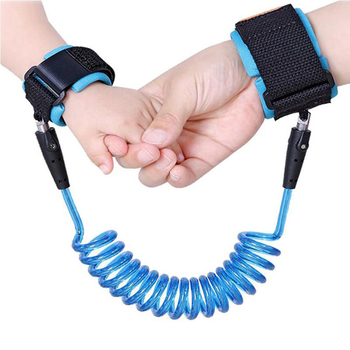 1.5/2.5m Child Wrist Leash Anti-lost Link Adjustable Kids Safety Harness Children Belt Walking Assistant Baby Walker Wristband