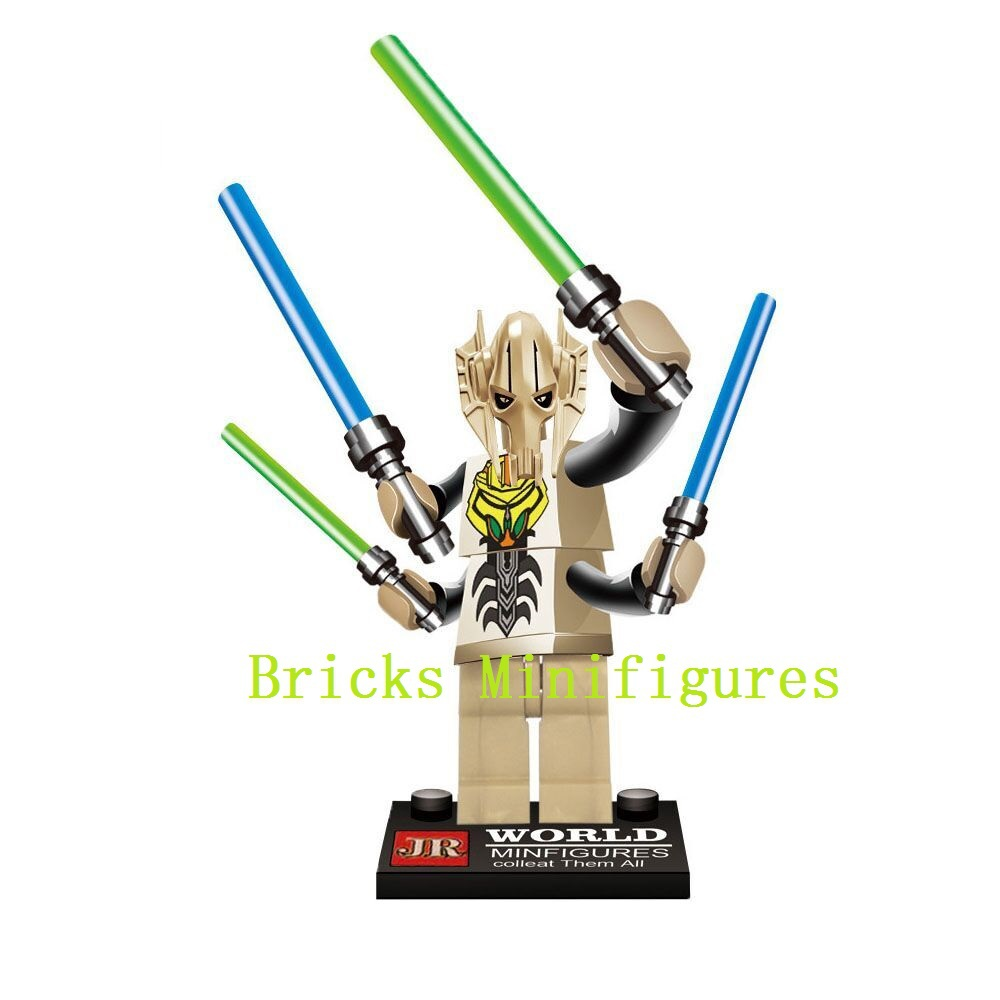все цены на  Single Sales Building Blocks Super Heroes Star Wars 7 The Force Awakens General Grievous Bricks Kids Toys For Children  в интернете