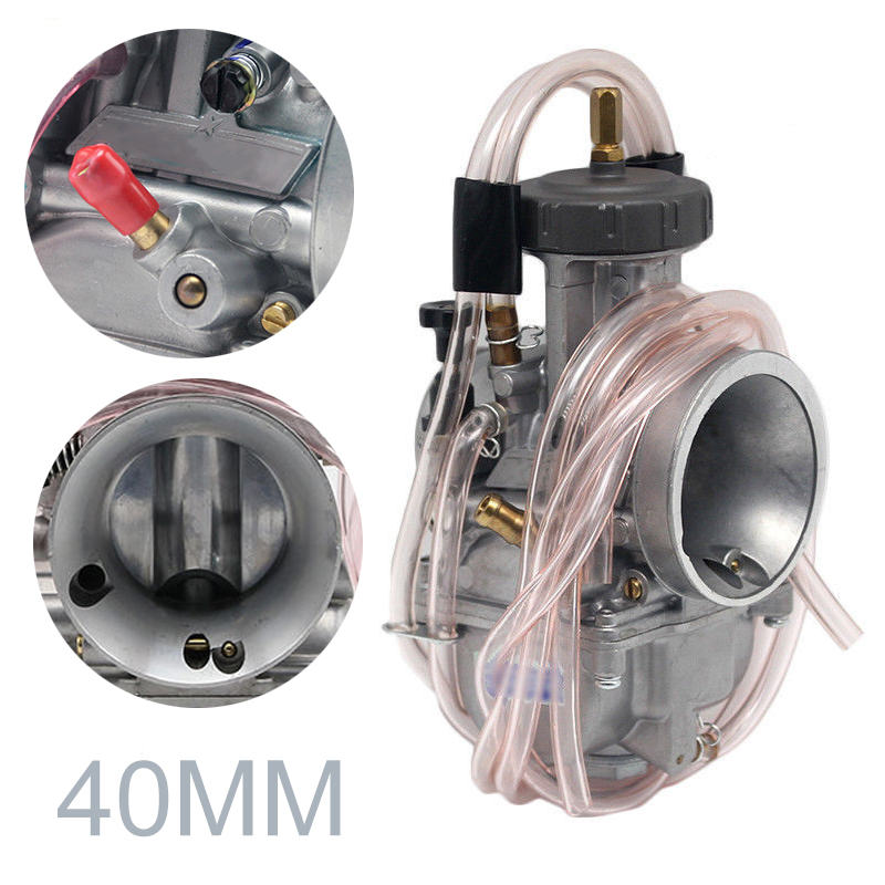 1pc PWK Racing Carburetor 40mm Motorcycle Carb Universal For Dirt Bike Motocross Go Kart Moped Scooter ATV Quad