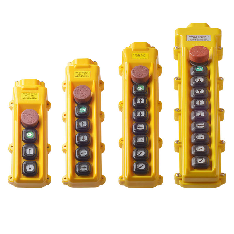 61Y 62Y 63Y 64Y Rainproof Single Double Speeds Hoist Switch Push Button for Crane Switch Pendant controller 61YS 62YS 63YS 64YS61Y 62Y 63Y 64Y Rainproof Single Double Speeds Hoist Switch Push Button for Crane Switch Pendant controller 61YS 62YS 63YS 64YS