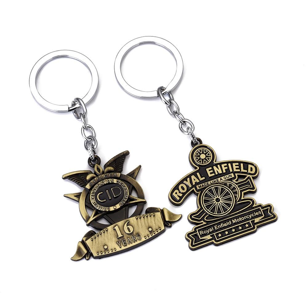 Premium quality faux leather Royal Enfield motorcycle key ring//key fob