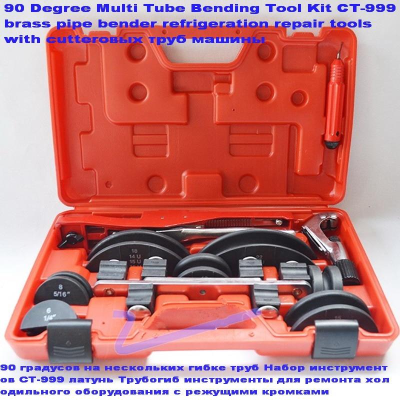 6 22mm 90 graus ferramenta de mao ar condicionado aluminio bronze dobrador de tubulacao de metal