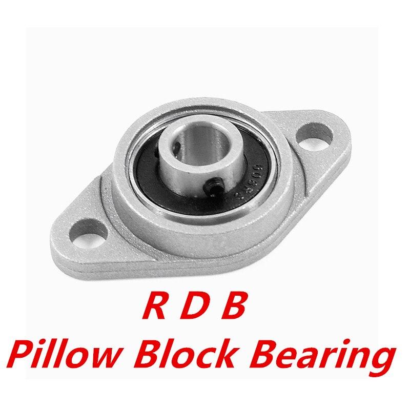 Bore 8-30mm KFL08-KFL006 Zinc Alloy Self Align Pillow Block Flange Bearing