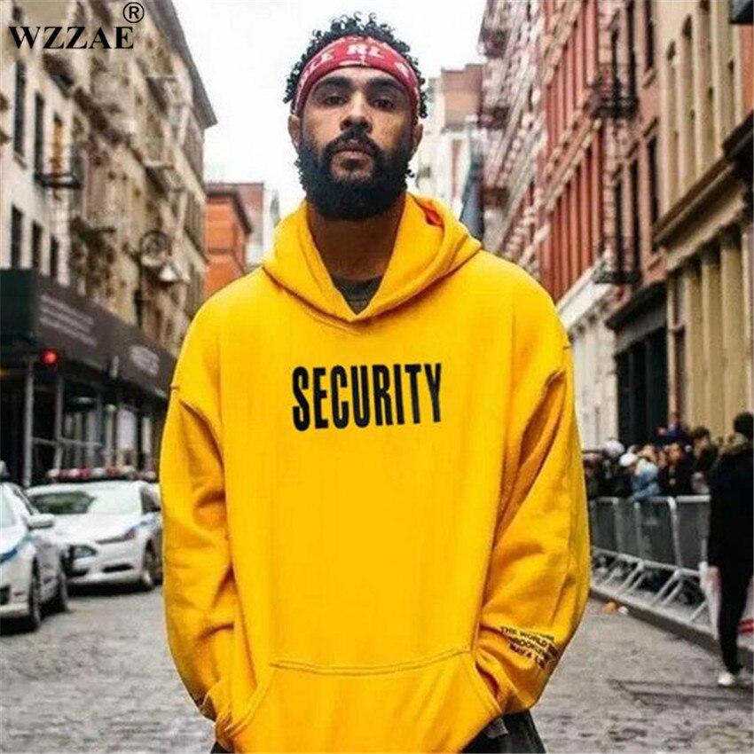 Vfiles Security Print Hoodie Justin Bieber Fog High Street Sweatshirt Bibb Purpose Tour Yellow Hoodie Lovers Couple Bts Hoodie hoodie