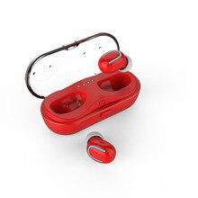 TWS Bilateral Chamadas Bluetooth 5.0 fone de ouvido fone de ouvido Sem Fio Invisível Fone de Ouvido esporte Fone de Ouvido com Microfone para o telefone de carregamento da caixa