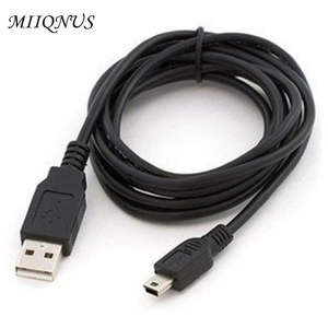 1 pcs usb extension cable Best Black USB 2.0 A Male to Mini 5 Pin B Data Charging