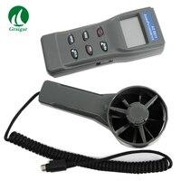 Az8911 anemômetro multifuncional testador ambiental velocidade do vento teste de fluxo ar temperatura tester