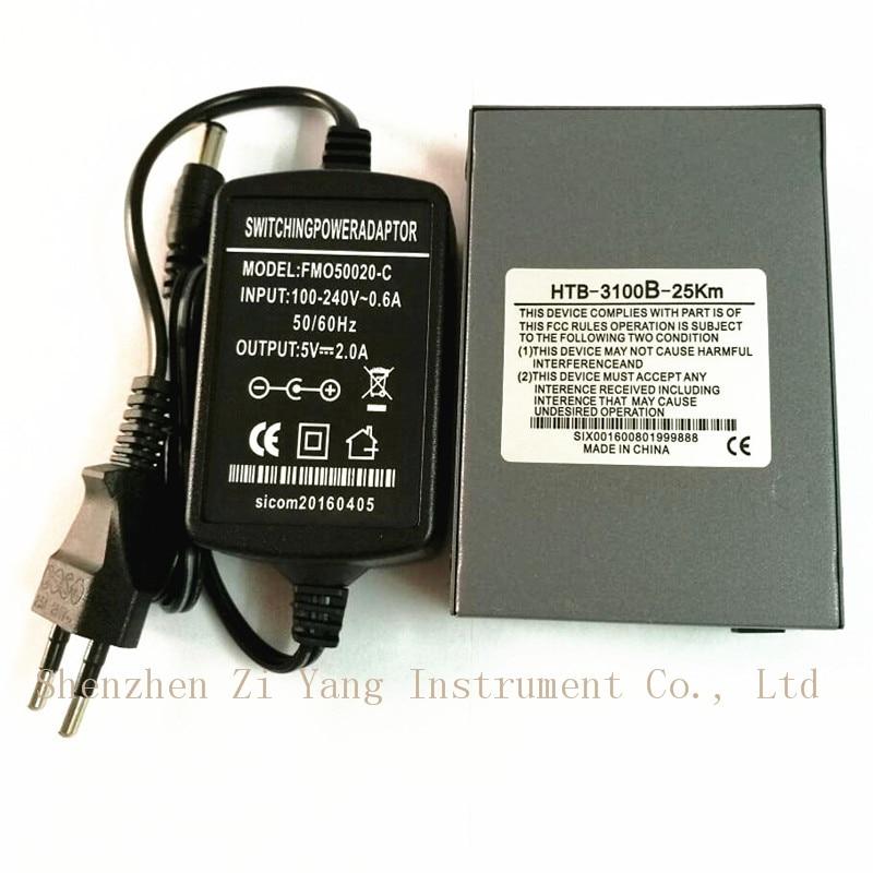Htb-3100ab Optisk Fiber Media Converter Fiber Transceiver Single - Kommunikationsutrustning - Foto 3