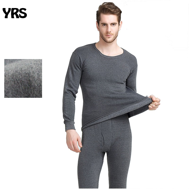 Winter long johns thick thermal underwear sets keep warm for Russia Canada and Europe men