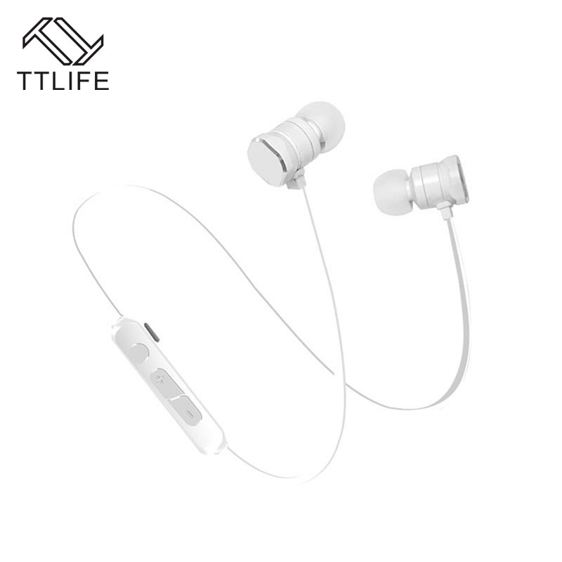 TTLIFE X3 Wireless Bluetooth Earphone Sports Bluetooth 4.1 Magnetic Headset Music Stereo Original Headphones For Phone Xiaomi kz headset storage box suitable for original headphones as gift to the customer