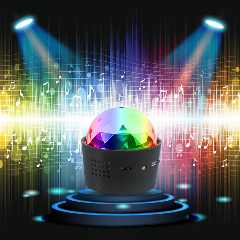 Wireless Disco Ball Lights Battery Operated Sound