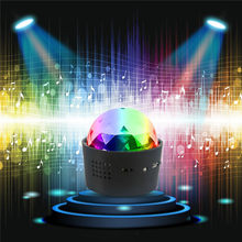 Wireless Disco Ball Lights Battery Operated Sound Activated Led Party Strobe Light Mini Portable Rgb Dj Stage With Usb