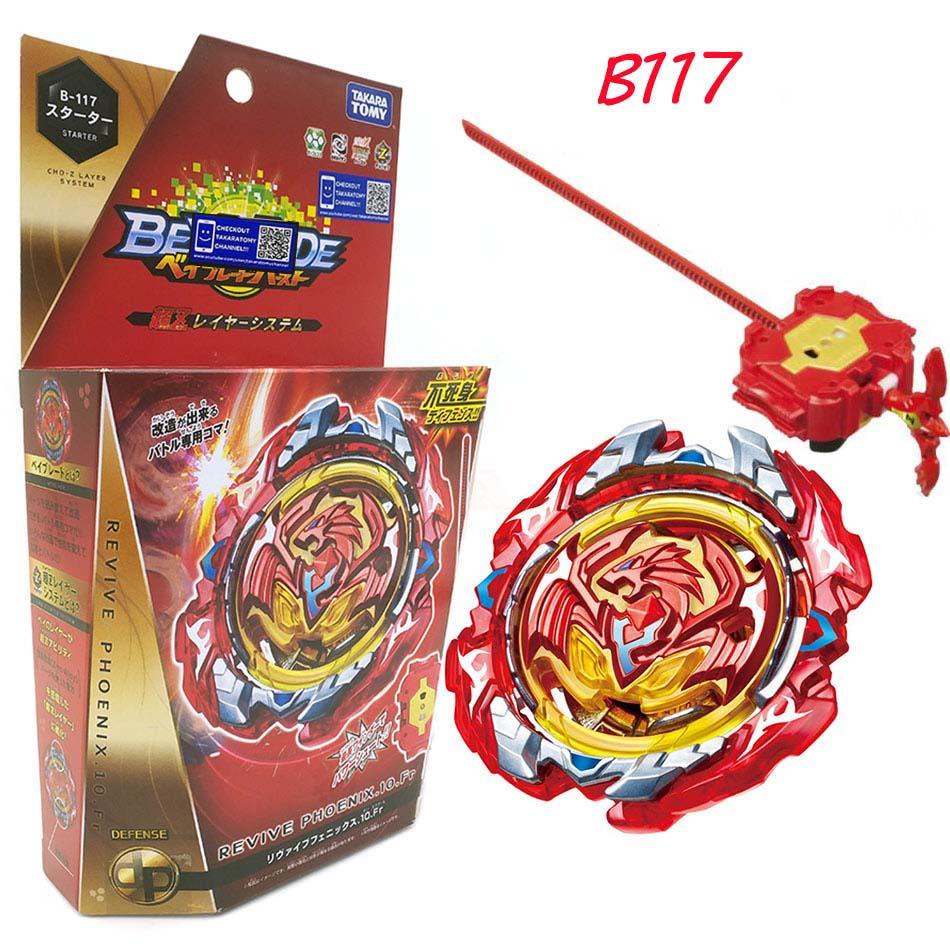 Takara Tomy Bayblade Burst Fafnir B-127 CHO-Z VALKYRIE.Z.Ev With Launcher Bayblade Be Blade Top Spinner Toy For Children B122