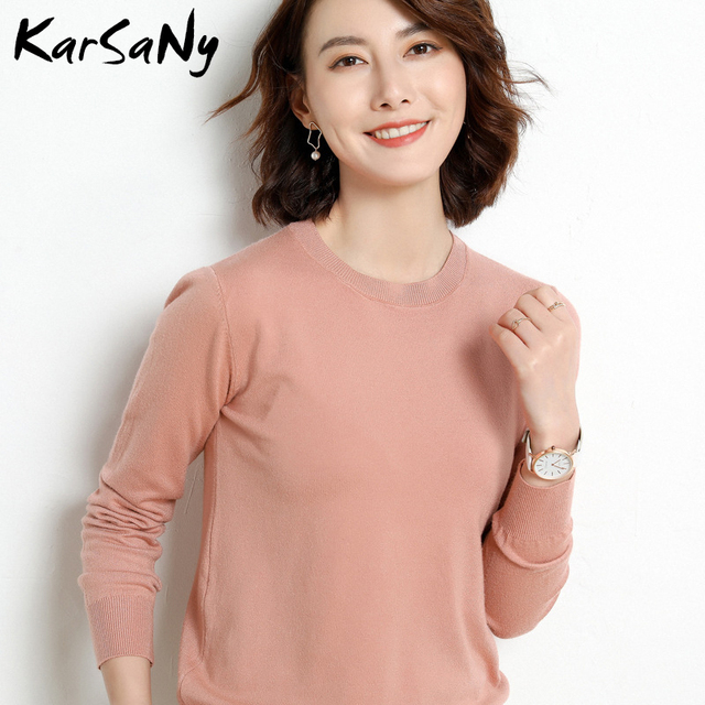 Yellow Cashmere Sweater For Women Sweaters Female Pink Wool Winter Woman Sweater Knitting Pullovers Knitted Sweaters Jumper 2020 4