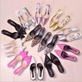2016 verano nueva moda zapatos de Mujer de punta fina con zapatos de tacón alto de Las Mujeres sexy leopard bow sandalias y zapatillas sandalias de las mujeres