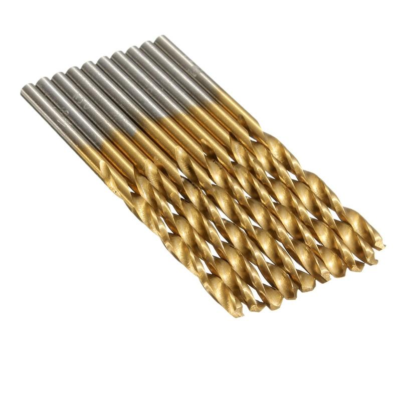 Gorąca sprzedaż 50 sztuk / zestaw Wiertło spiralne do metalu - Wiertło - Zdjęcie 3