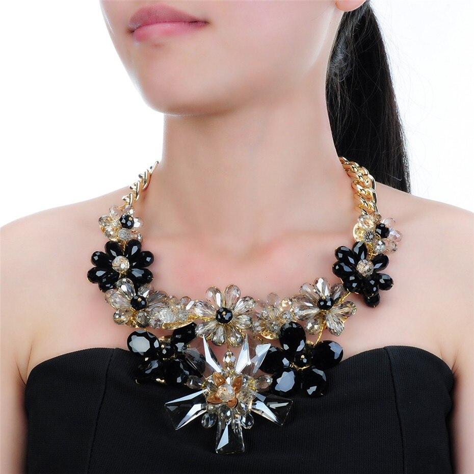 Λουλούδια κρύσταλλα λουλούδι - Κοσμήματα μόδας - Φωτογραφία 4