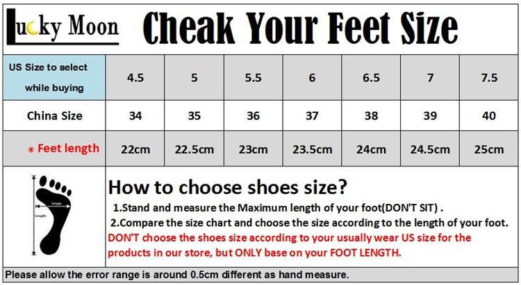 feet length size