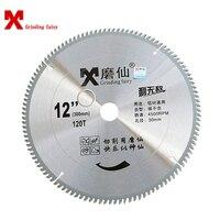 MX 12 inch Zaagblad Carbide Circulaire Zaagbladen Houten Snijder voor Aluminium Snijden 300mm Schurende Disc Zaag blade