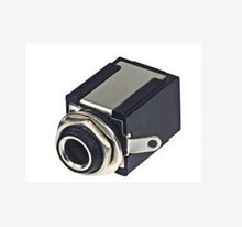 Free Shipping!!!  YS211 / stereo / 6.35 female / Audio Block / 6.5 / sophomore core socket /Electronic Component
