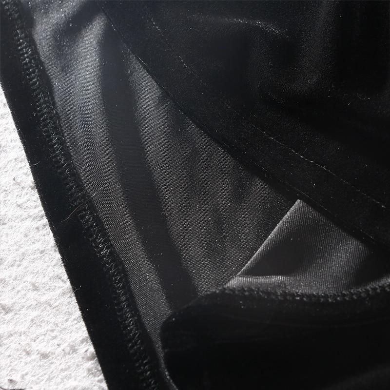 Trois Genou Patchwork Casual Black Col 2018 A Montant Samgpilee ligne longueur Manches Robe red Nouveau Chauve Trimestre souris Hiver Appliques nCSqwvqY