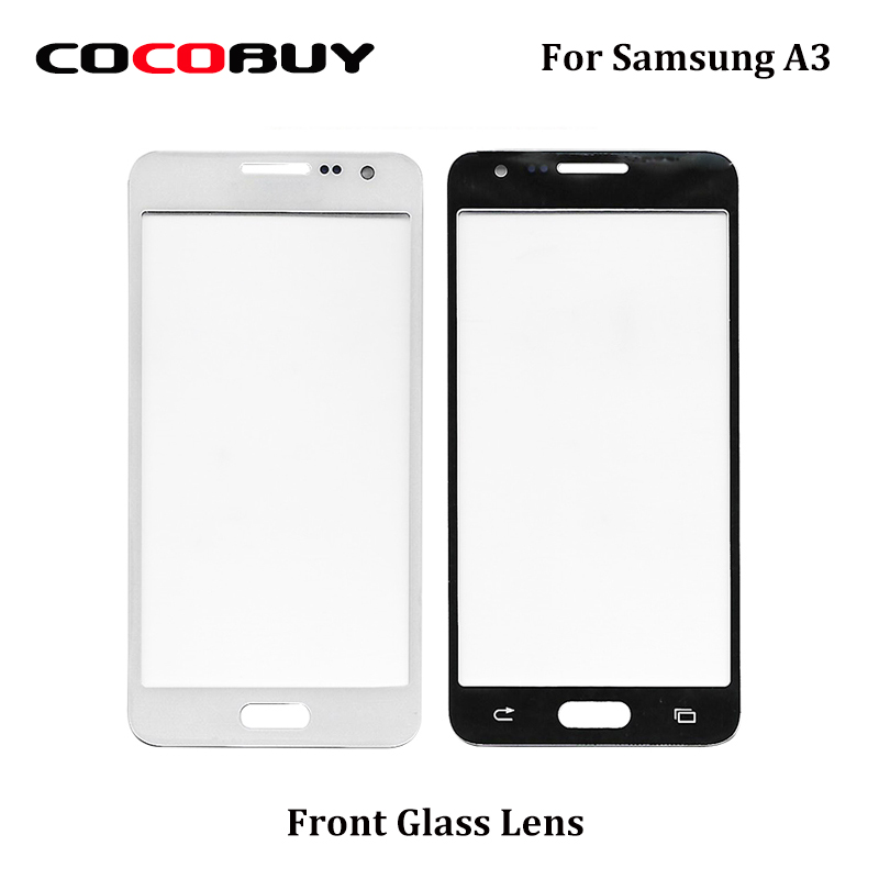 Novecel Front Glass Lens For Samsung Galaxy A3 A300 4.5