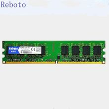 Reboto DDR2 1 ГБ 2 ГБ ram 800 МГц 667 МГц pc2-5300u pc2-6400u для Настольных ОПЕРАТИВНОЙ памяти sdram Бесплатная Доставка