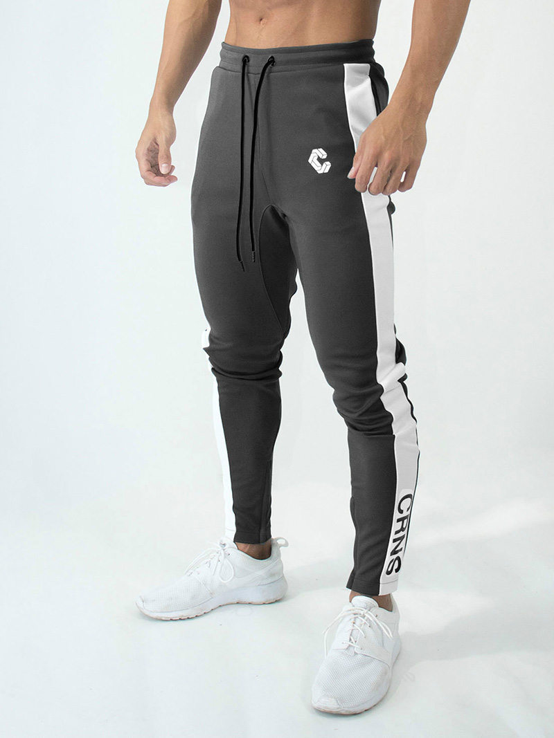 Mens Joggers Casual Pants Fitness Men Sportswear Bottoms Skinny Sweatpants Trousers Fashion Gyms Jogger Track Pants 29