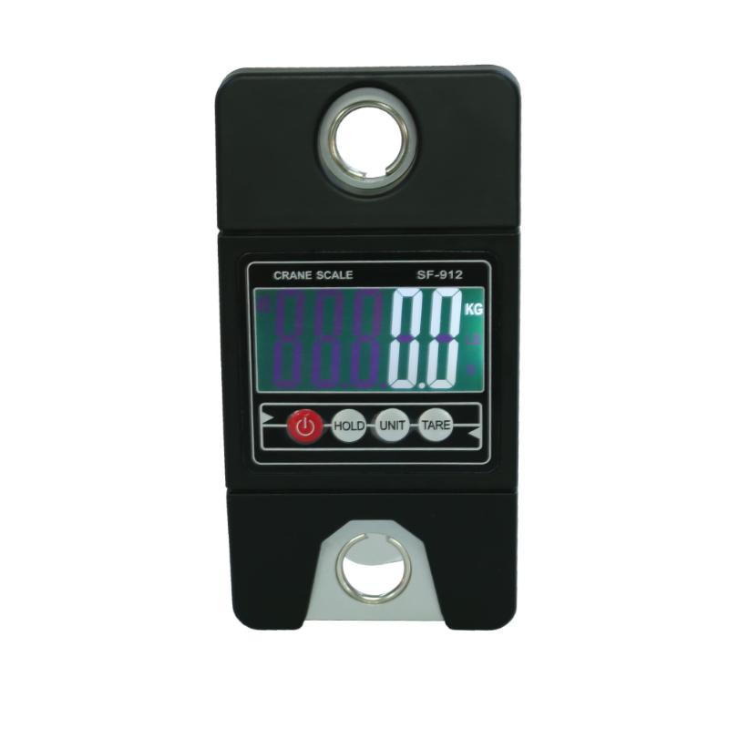 300kg/0.1kg Mini Industrial Crane Scale Portable Handle Digital LCD Electronic Scale Heavy Duty Electronic Hanging Hook Scale mini heavy duty electronic digital hook hanging crane scale 300kg 100g industrial weighing scales led backlight