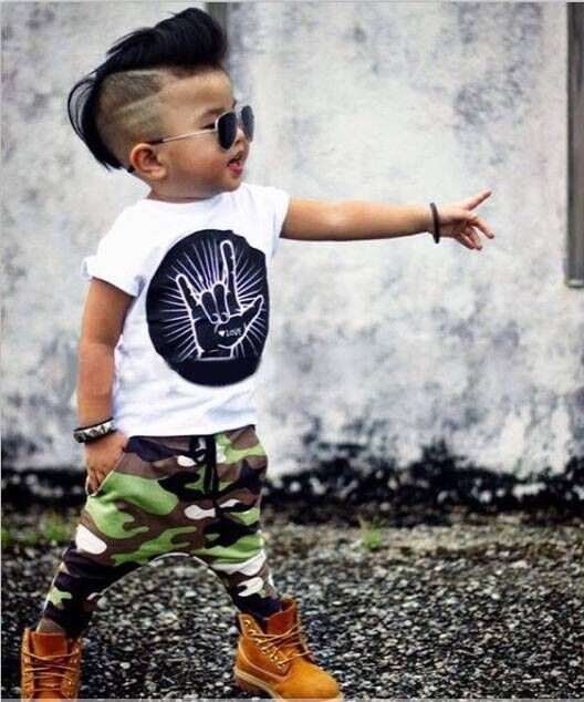 2017 Summer baby Kids fashion newborn baby boy clothes cartoon Short sleeve T-shirt+Camouflage pants 2pcs Infant clothing set baby boy clothes suits vest plaid shirt pants 3pcs set party formal gentleman wedding long sleeve kid clothing set free shipping