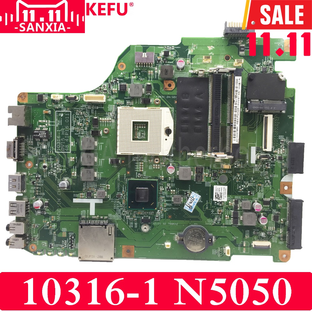 Kefu vbw00 la 9981p laptop motherboard for dell 15r 3537 5537 test