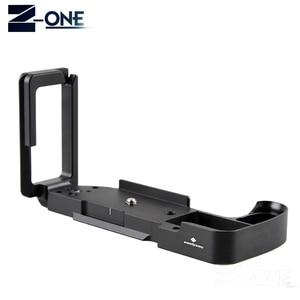 Image 2 - Pro вертикальный штатив L Type с быстроразъемной пластиной, основание для цифровой камеры Fujifilm XH1, для цифровых камер, с поддержкой камеры