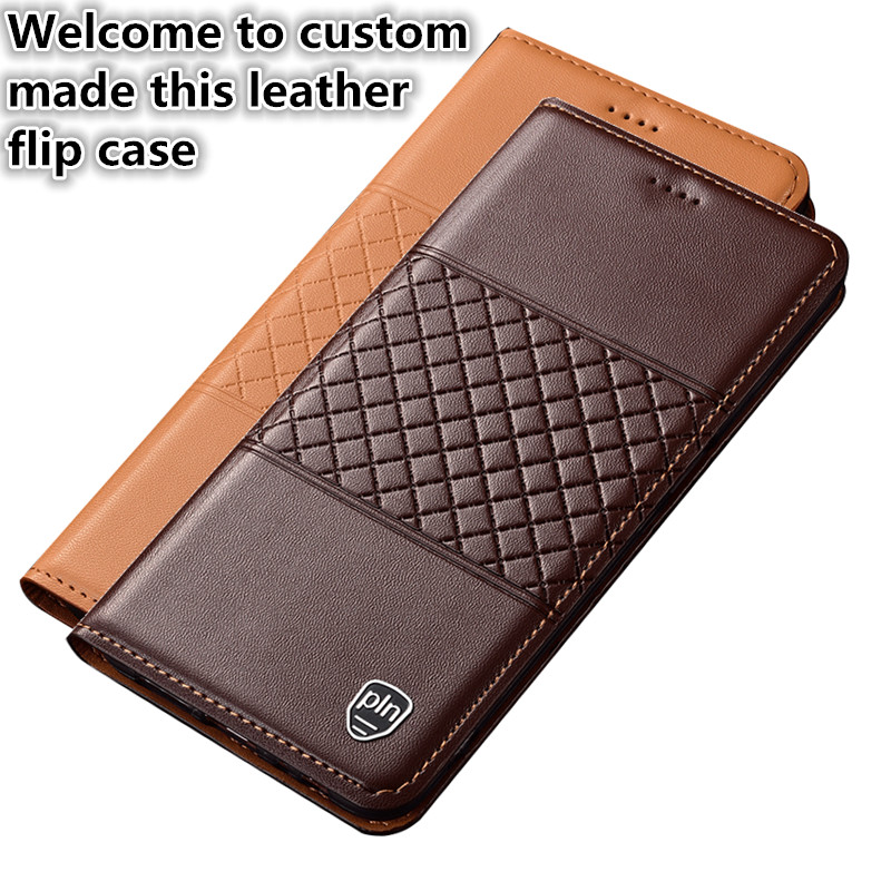 YM09 Genuine Leather Phone Bag With Card Holder For Sony Xperia XA1 Ultra Phone Case For Sony Xperia XA1 Ultra(6.0') Case