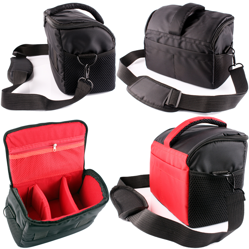 New DSLR Camera Bag Video Photo Case for Nikon D5600 D5500 D5300 D5200 D5100 D3300 D3200 D3100 D7200 D7100 D7000 D750 D810 D610