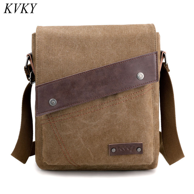 bb5fac3bf2b Fashion High Quality Men Handbag Messenger Bag Men canvas Shoulder Business  Messenger Bags Ipad Male Crossbody Bags Travel Bag