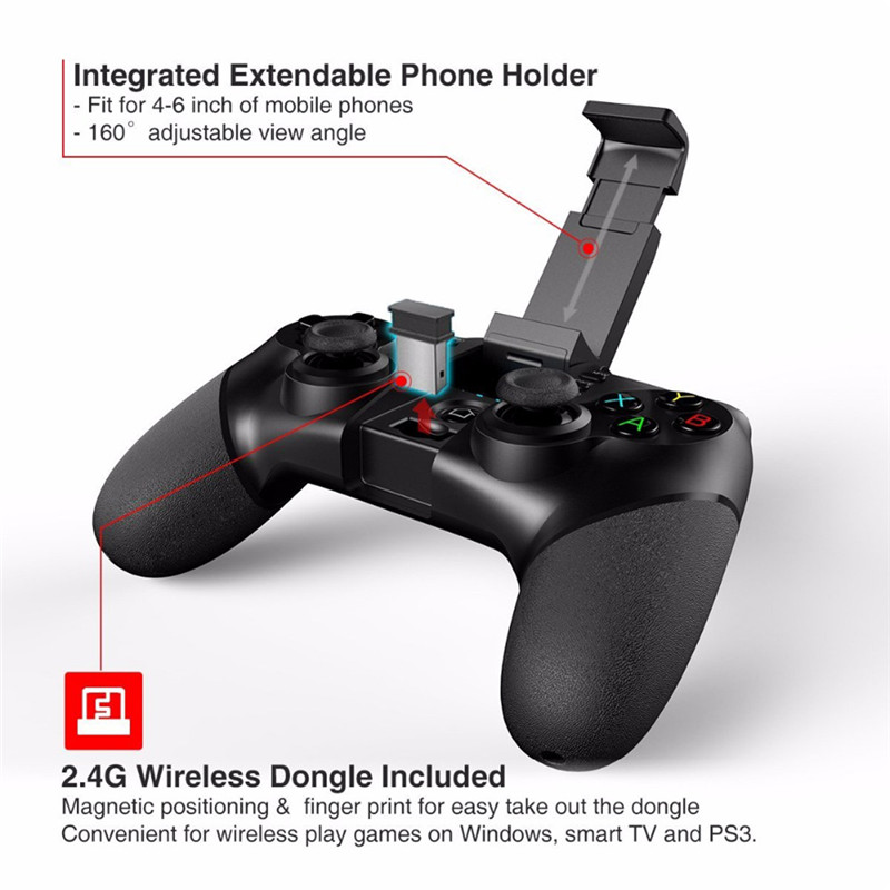 iPEGA 9076 Gamepad for PS3 Bluetooth Game Pad for Playstation 3 Joystick Android Wireless Controller Android Phone Tablet Tv Box 3