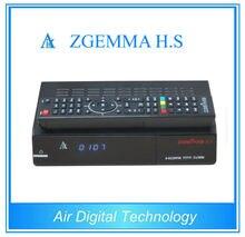10 unids/lote nueva Zgemma H.S receptor de TV por satélite low cost set top box