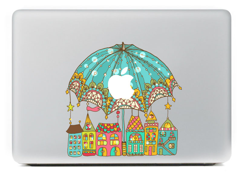 Lovely Dreamland Vinyl Decal Sticker for DIY Macbook Pro / Air 11 13 15 Inch Laptop Case Cover Sticker
