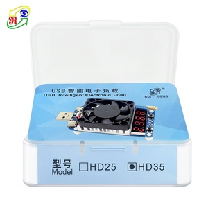 Image 5 - RD HD25 HD35 Trigger QC2.0 QC3.0 Electronic USB Load resistor Discharge battery test adjustable current voltage 35w