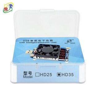 Image 5 - RD HD25 HD35 déclencheur QC2.0 QC3.0 électronique USB résistance de charge décharge batterie test tension de courant réglable 35w