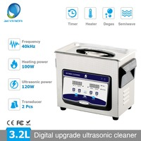 Skymen 3.2L Upgrade Digital Ultrasonic Cleaner Bath Degas Ultrasound Cleaner Timer Sonic Cleaner Parts Engine Cutters Carb Chain