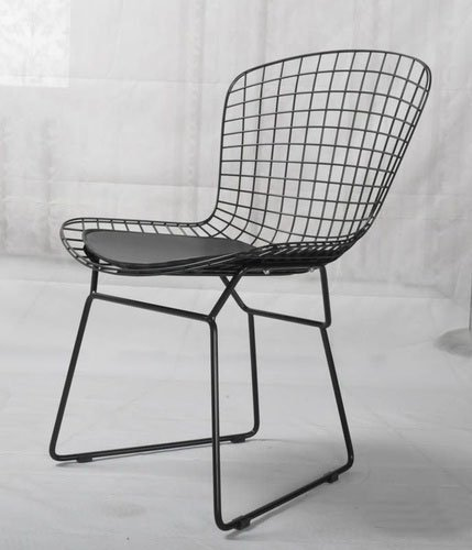 The Nordic Office Chair Bertoia Wire Back Chairs Parlor Computer Metal Personality In Beach From Furniture On