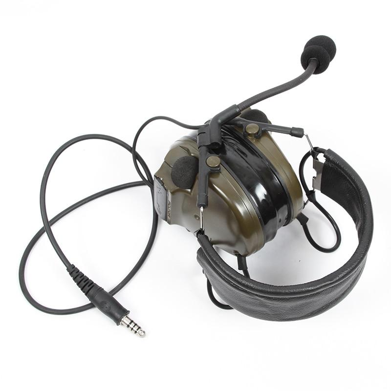 COMTAC III TAC-SKY COMTAC comtac iii silicone earmuffs earphone noise reduction pickup military tactical headset C3FG