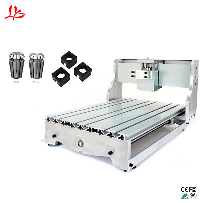 CNC6040 milling machine frame ball screw DIY cnc engraving router kits part 3040 cnc router frame diy cnc frame with ball screw for small engraving machine parts eu tax free