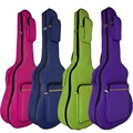 Free shipping 41 inch shoulders cotton thickening cost-effective ballad guitar bag, new multicolor acoustic guitar bags