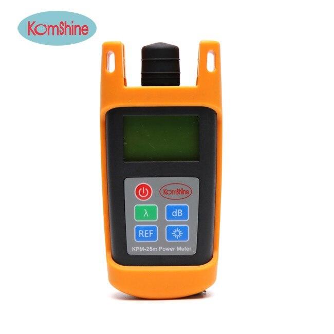 Free Shipping Komshine KPM-25M Handheld Fiber Optic Power Meter Cable Tester