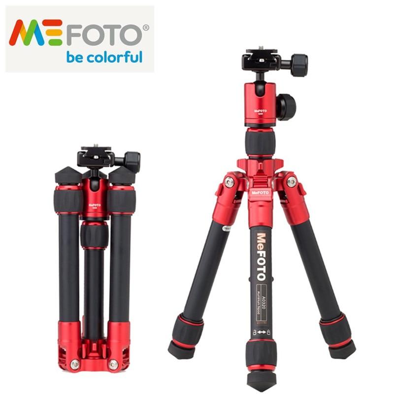 MeFOTO Portable SLR Camera Tripod Mini Aluminum Tripods Fashion Deshign Max Loading 4kg Great Accessory For Most Cameras цена 2017