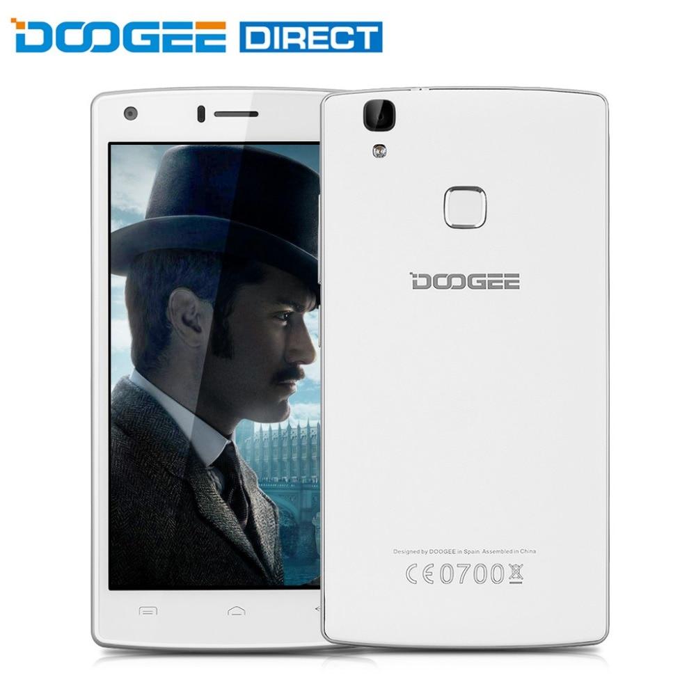 bilder für Doogee x5 max pro 5,0 zoll 4g smartphone android 6.0 mtk6737 quad core 1,3 ghz 2 gb ram 16 gb rom fingerprint sensor